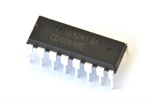 Circuito Integrado registrador de deslocamento CD4094BE shift register de 8 bits
