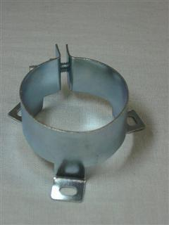 "Clipe de capacitor 1 3/4"" (clamp 45mm)"