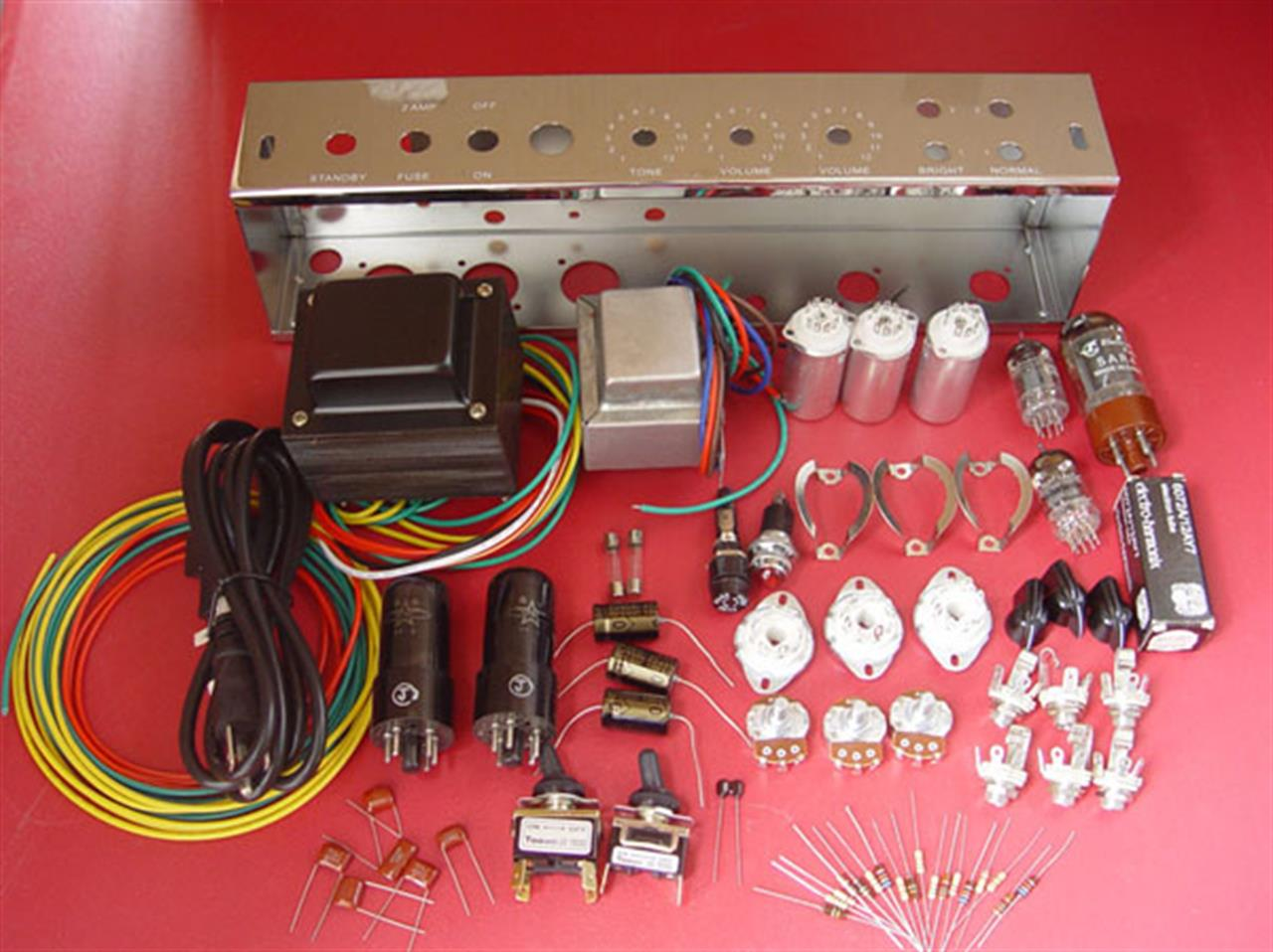 Kits para montar - Kit Amplificador Fender 5E3
