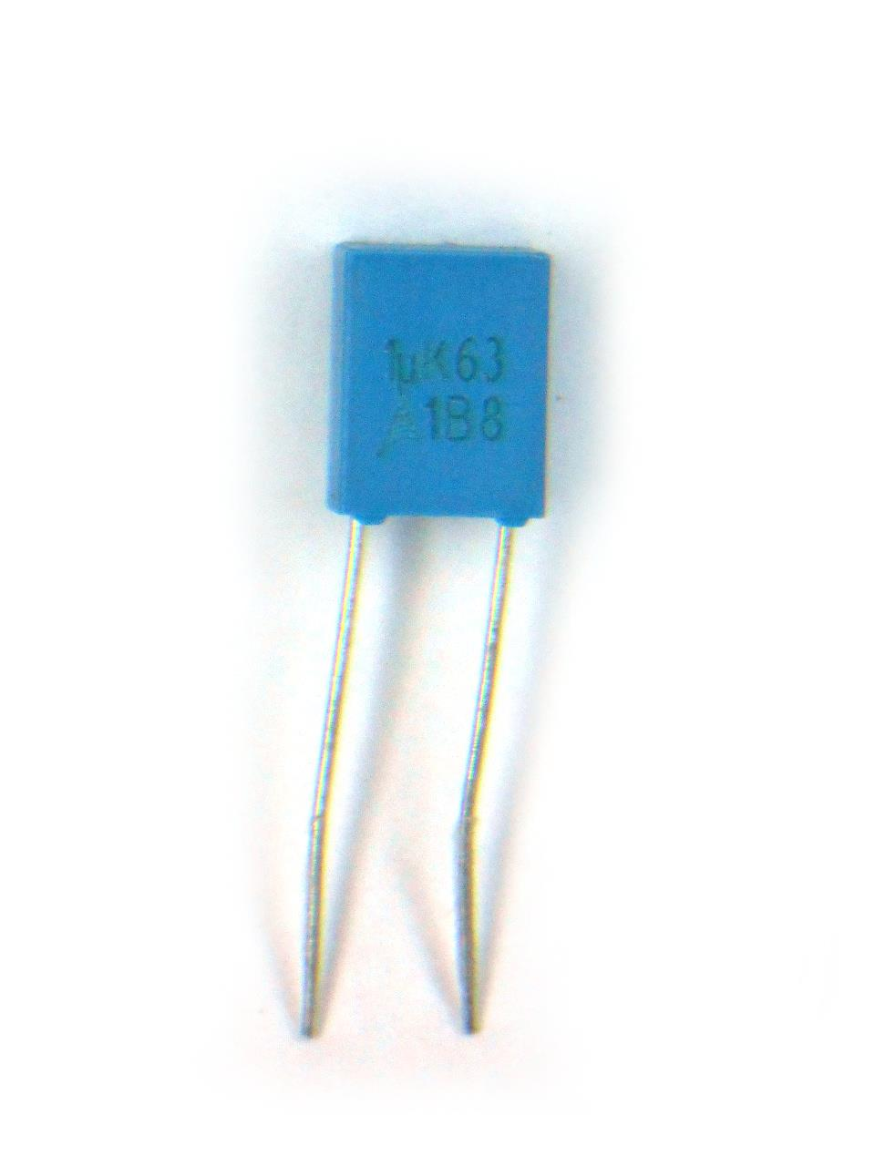 Capacitor Poliester 1uF x 63V