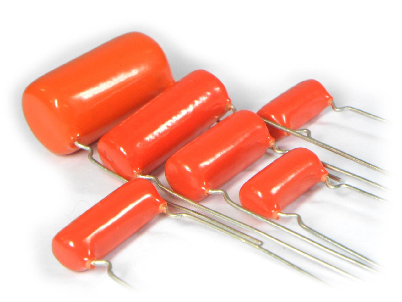 Capacitor Poliéster Orange Drop 0.01uF 600V